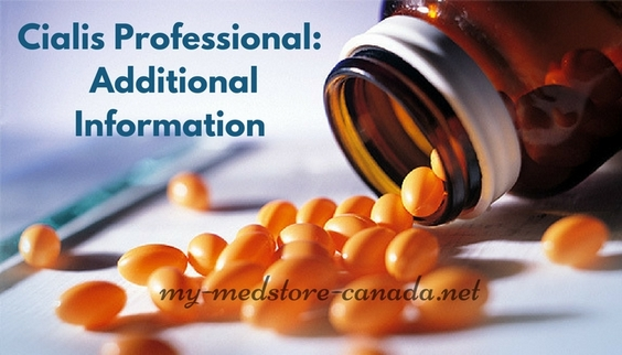 Cialis Professional Additional Information
