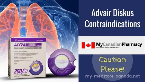 advair contraindications