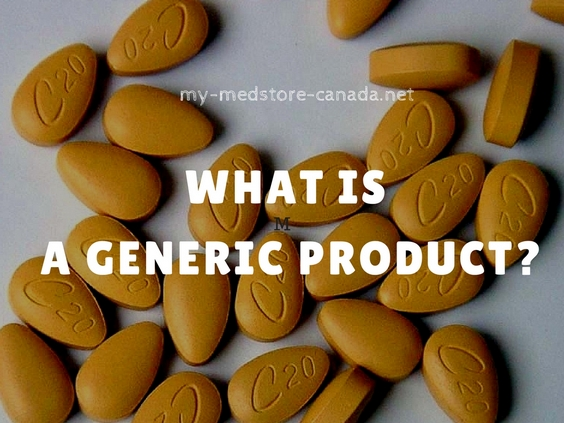 WHAT IS A GENERIC PRODUCT?